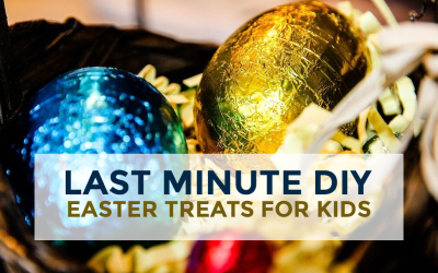 Last Minute DIY Easter Treats for Kids