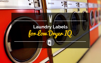 Laundry Labels for Low Dryer IQ